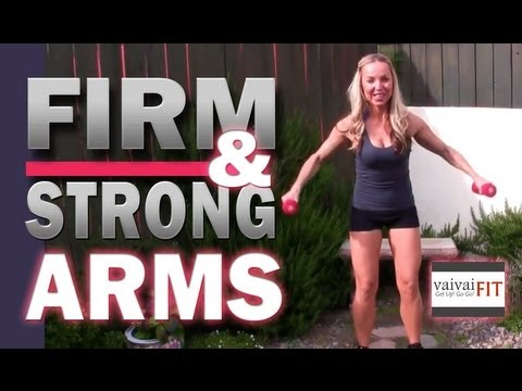 Workout: How to have FIRM & STRONG ARMS