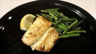 How To Pan Sear Halibut Simple Recipe