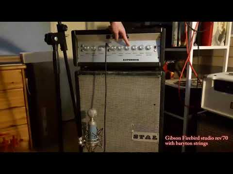 Stal Reverber test (Brooklyn 60 sr / Sound Comet Deluxe RT)