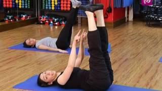 #x202b;تمارين لتقوية وشد عضلات الجسم - زينب - رياضة#x202c;lrm;
