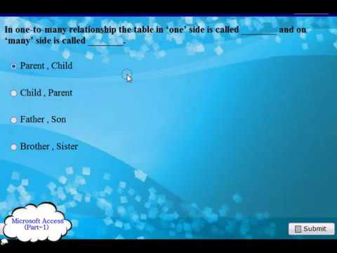 Microsoft Access 200720102013 2014 Exam Q and A pt 1