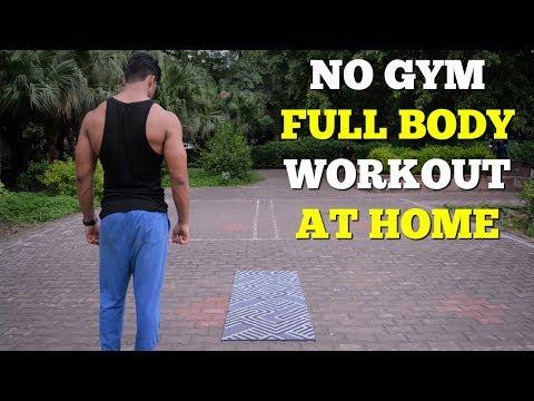 Full Body Workout At Home | Nikhil Nautiyal