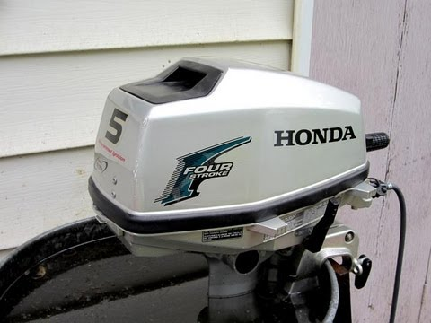 HOW TO Make Your Honda Outboard Motor Idle Good Again