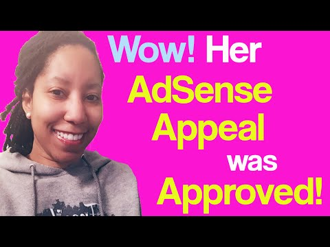 How She Got Her Disabled AdSense Account Reinstated!