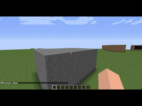 Make A Room or Hollow Cube in Seconds!