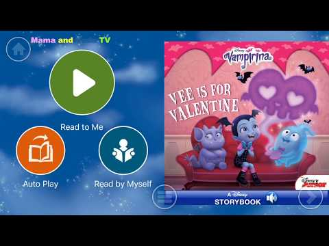 Walt Disney Pictures Presents the Vampirina Story - Audio Read Aloud Bedtime Storybook for Kids