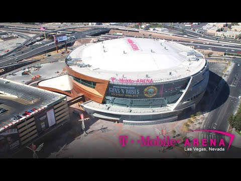 Official T-Mobile Arena Construction Time-Lapse