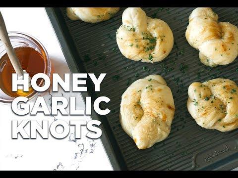 Honey Garlic Knots