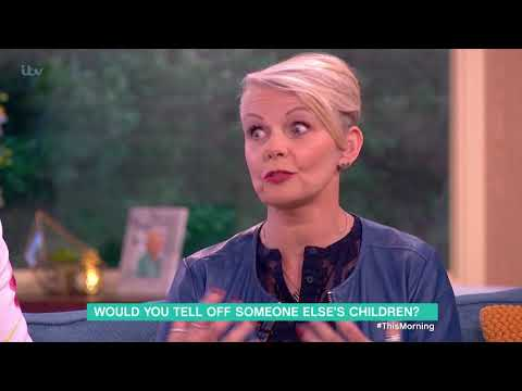 Would You Tell Off Someone Else's Children? | This Morning