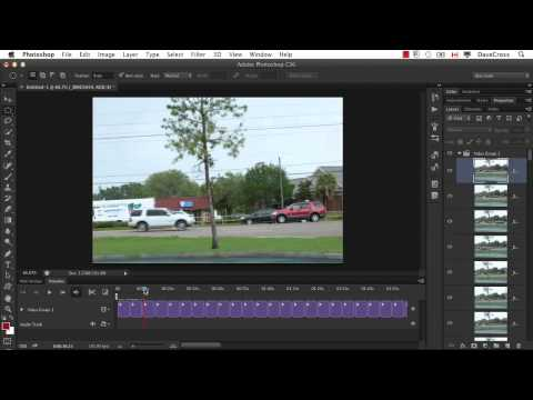Creating Stop Motion Video in Photoshop CS6