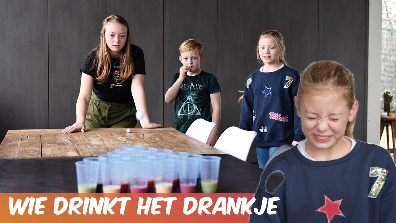 Pong spel - Familie Meerschaert Challenge