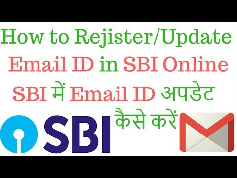 How to Register Update Email ID in SBI Online
