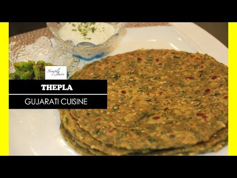 Thepla Recipe | How To Make Gujarati Thepla | Gujarati Cuisine | Simply Jain