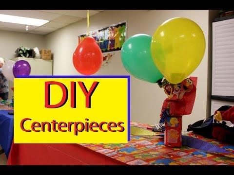 DIY  Easy Centerpieces - DIY Parties