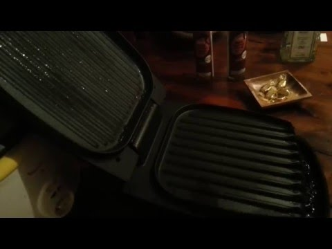 How to clean a George Foreman Grill Janices Way