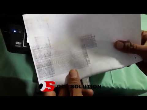 Corrupted Printing Problem Solved Epson L565,INZK4 - VideosTube