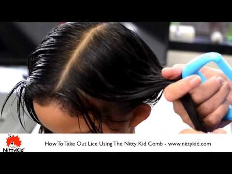 How to get rid of lice on children with long hair - how to do it at home