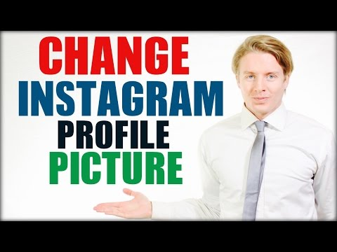 How to change Instagram profile picture 2016 Tutorial