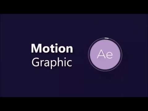 Complete Motion Graphic with After Effect in 5 hours