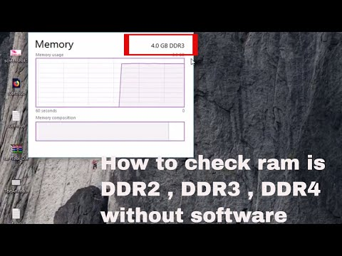 How to know which DDR type ram without software, DDR2 or DDR3 ?simple method