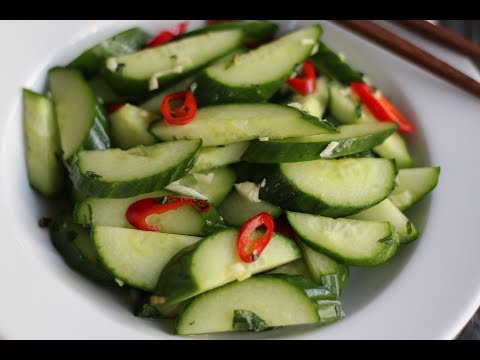 5 minutes for Fresh Cucumber Salad