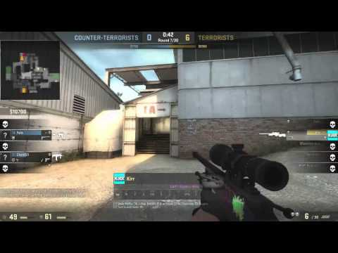 CS:GO Walling and Aimbot Activated! AWP