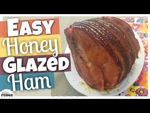 EASY HONEY GLAZED HAM in the Slow Cooker || How to Recipe
