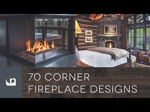 70 Corner Fireplace Designs