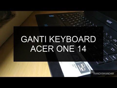 Tutorial Cara Bongkar dan Ganti Keyboard Laptop Acer One 14 Z1402-308T