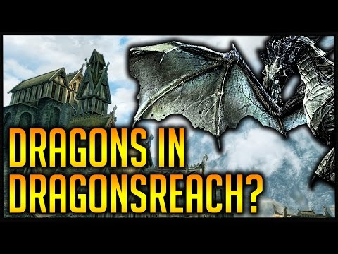 How many Dragons will fit into Dragonsreach? | Skyrim Special Edition