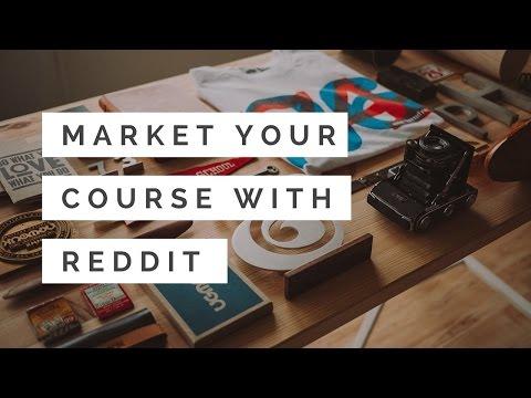 Market Your Online Course Using Reddit