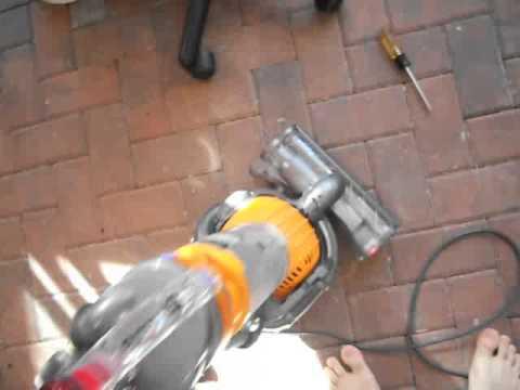 Free dyson Vacuum Unclogging a clog