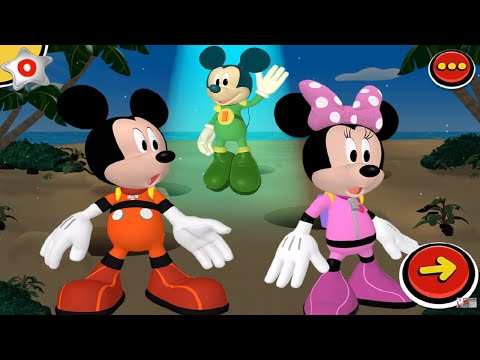 Mickey and Minnie's Universe Fire Truck Mickey Mouse Clubhouse Disney Junior Games for Children