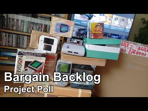 The Backlog of Bargains - Pick a Project Poll - You Decide