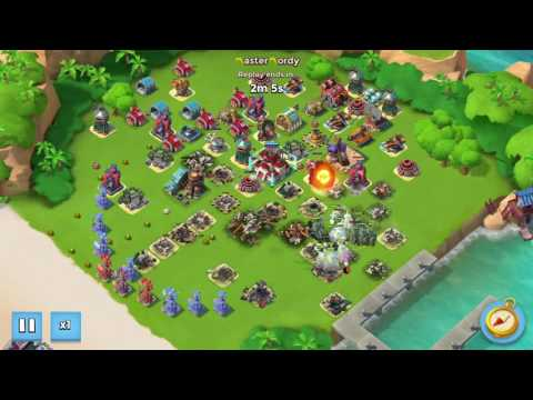 Boom Beach #1 Jason A.K (7 Boosted Ice) NEWEST layout taken down again by TANKS