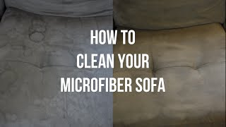 How To Clean A Microfiber Couch Itsjustkelli