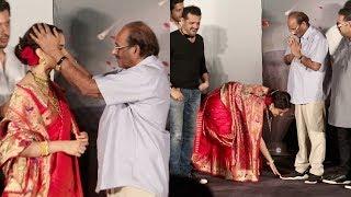 Kangana Ranaut Shows Respect & Touches Feet of Baahubali Writer Vijayendra Prasad Feet
