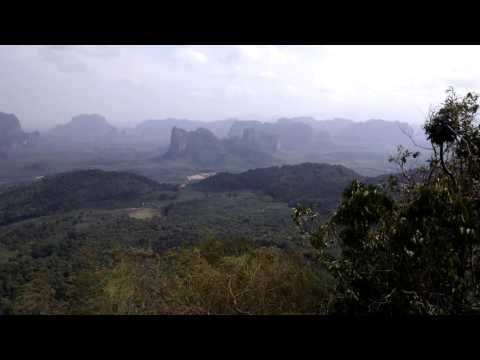 Krabi Thailand Hiking Area