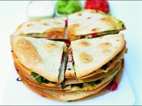 Cheese Quesadilas With Guacamole | EASY TO LEARN | QUICK RECIPES