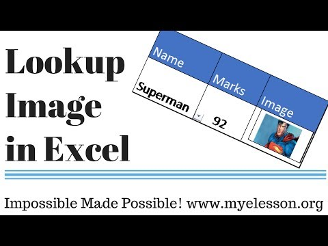 Lookup Picture in Excel ☑️