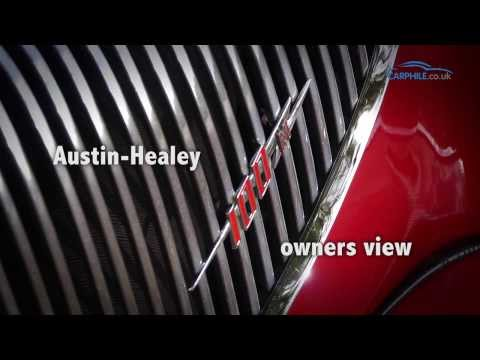 Austin-Healey 100M - an owners view - carphile.co.uk
