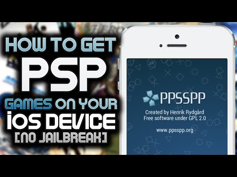 PPSSPP: How To Get PSP Games / ISOs on your iOS Device! (NO JAILBREAK)