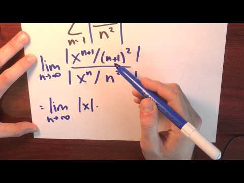 How do I find the radius of convergence? - Week 5 - Lecture 4 - Sequences and Series