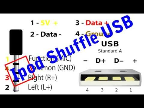 How To Create USB Cable Charging for Ipod 4th Generation