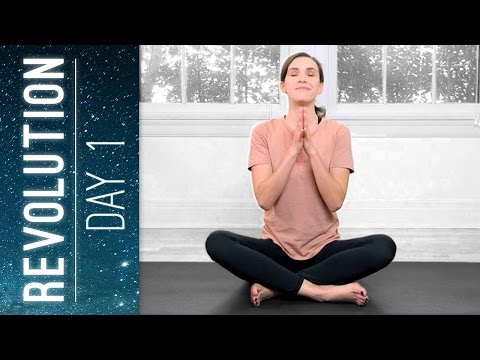 Revolution - Day 1 - Practice Ease - Yoga With Adriene
