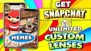 How to get Snapchat Meme Lenses (including Ugandan Knuckles)