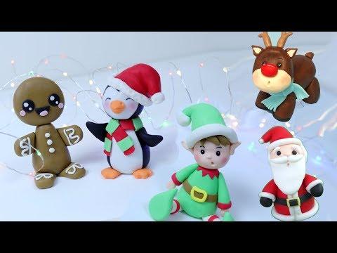 CHRISTMAS CAKE TOPPERS COMPILATION! Christmas Cake Decorating