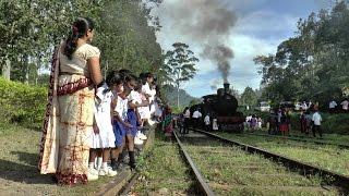 Demodara railway loop, Sri Lanka