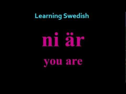 Learning Swedish (Lesson 4)
