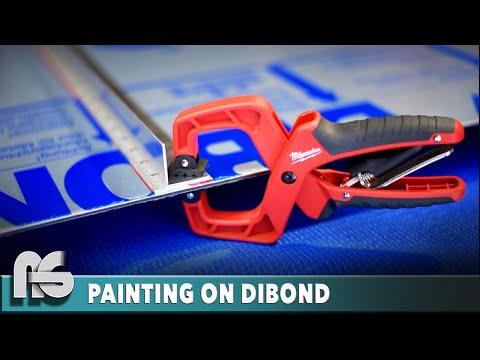 Painting on Composite Panels (DIBOND Preparation)